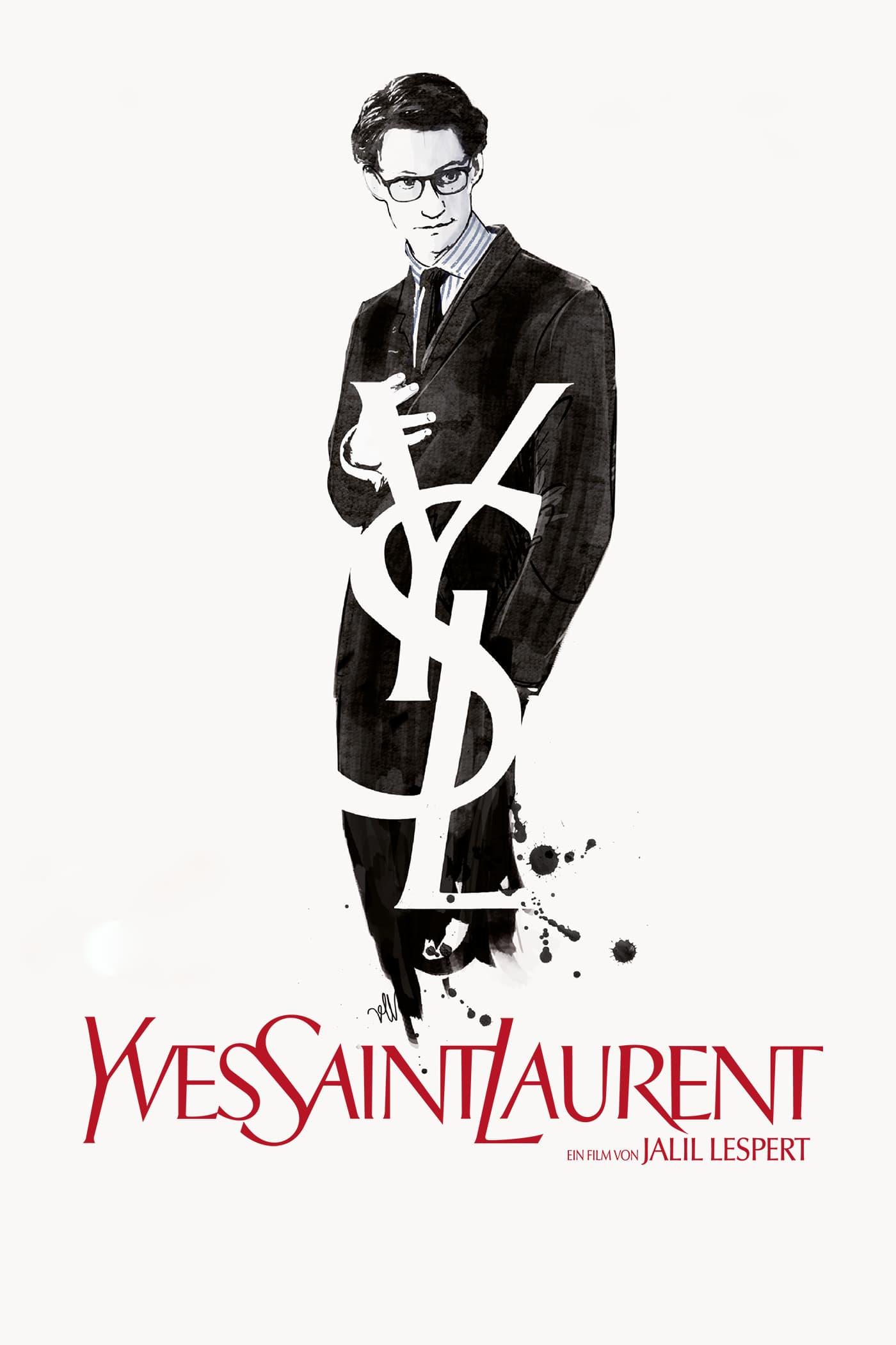 "Plakat von ""Yves Saint Laurent"""