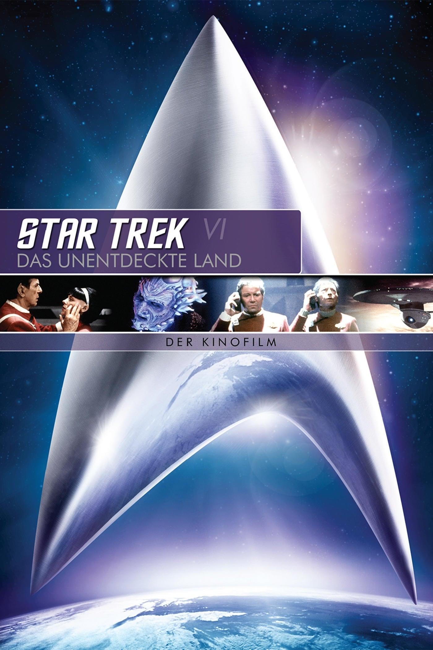 """Plakat von """"Star Trek VI - Das unentdeckte Land"""""""