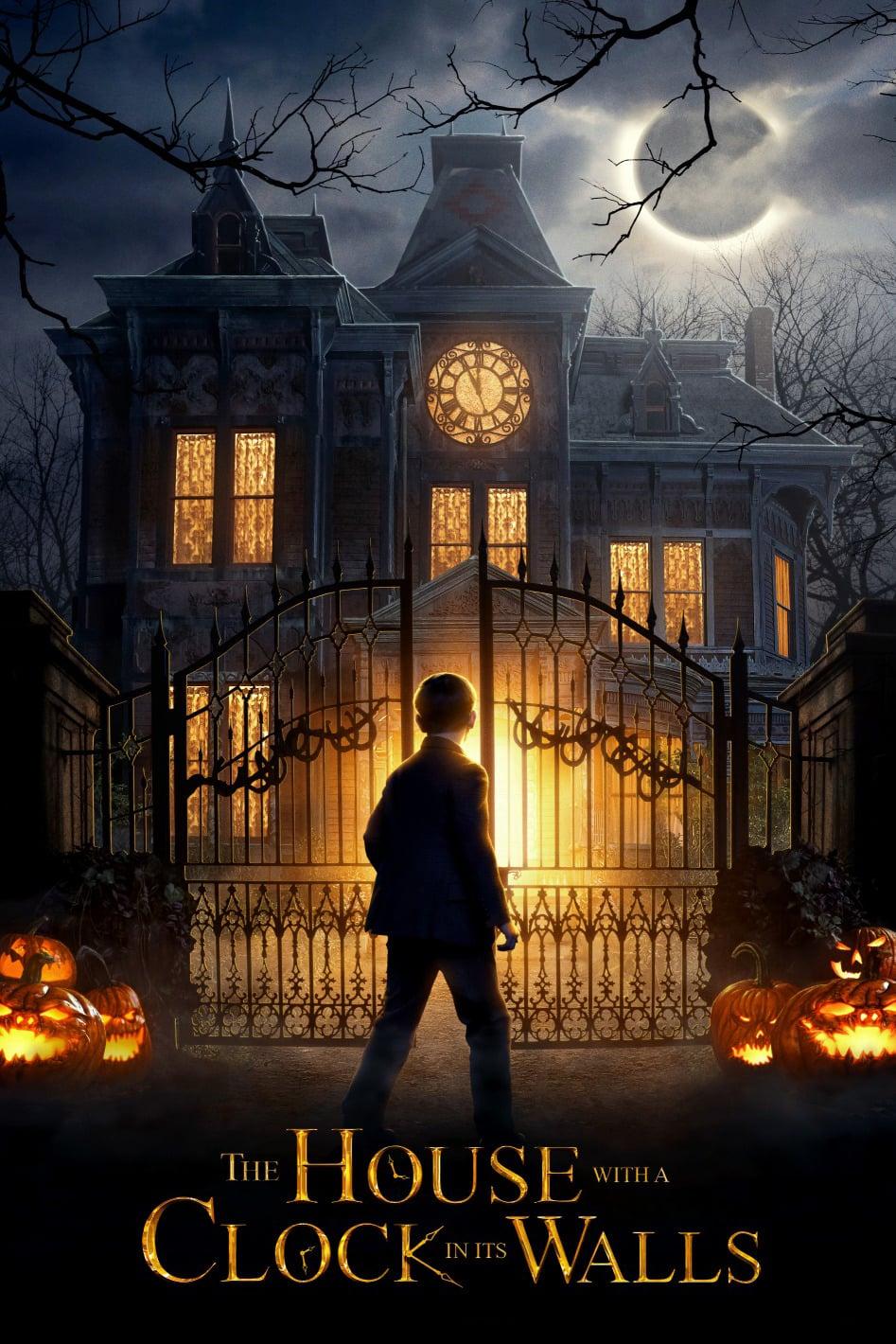 """Plakat von """"Das Haus der geheimnisvollen Uhren"""""""
