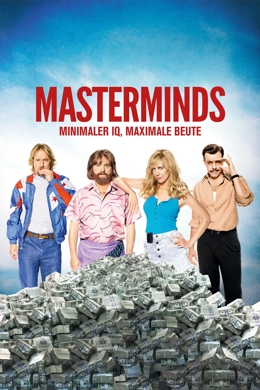 """Plakat von """"Masterminds"""""""