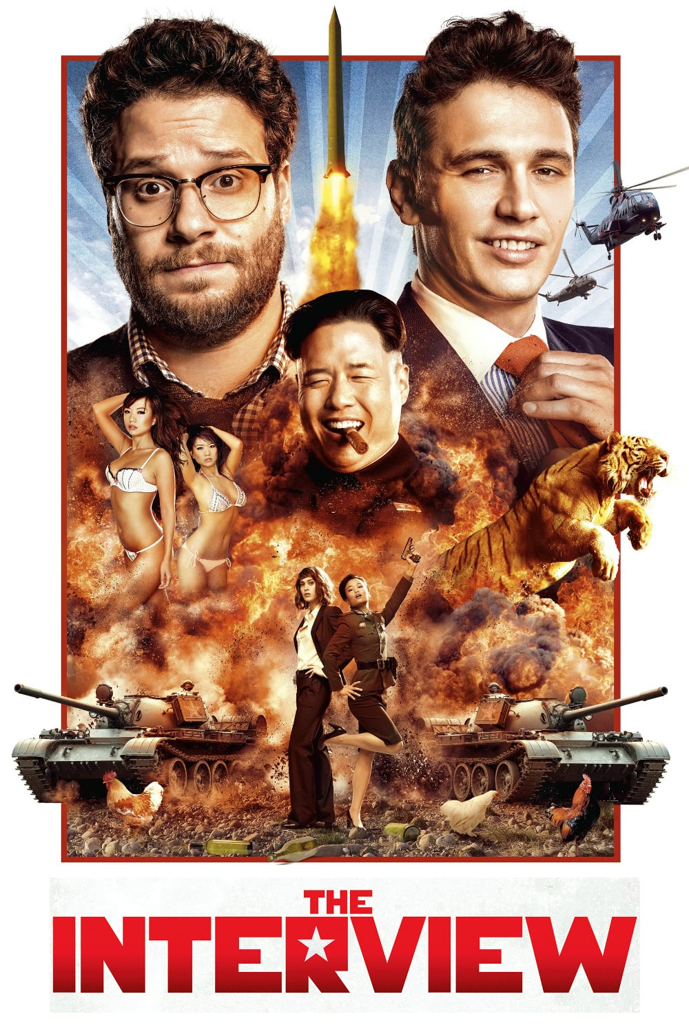 "Plakat von ""The Interview"""