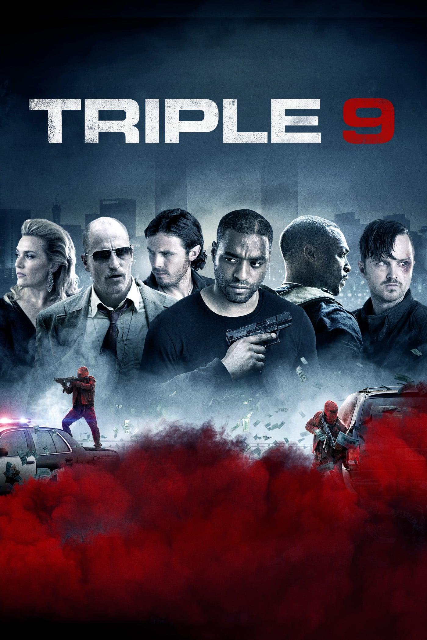 """Plakat von """"Triple 9"""""""