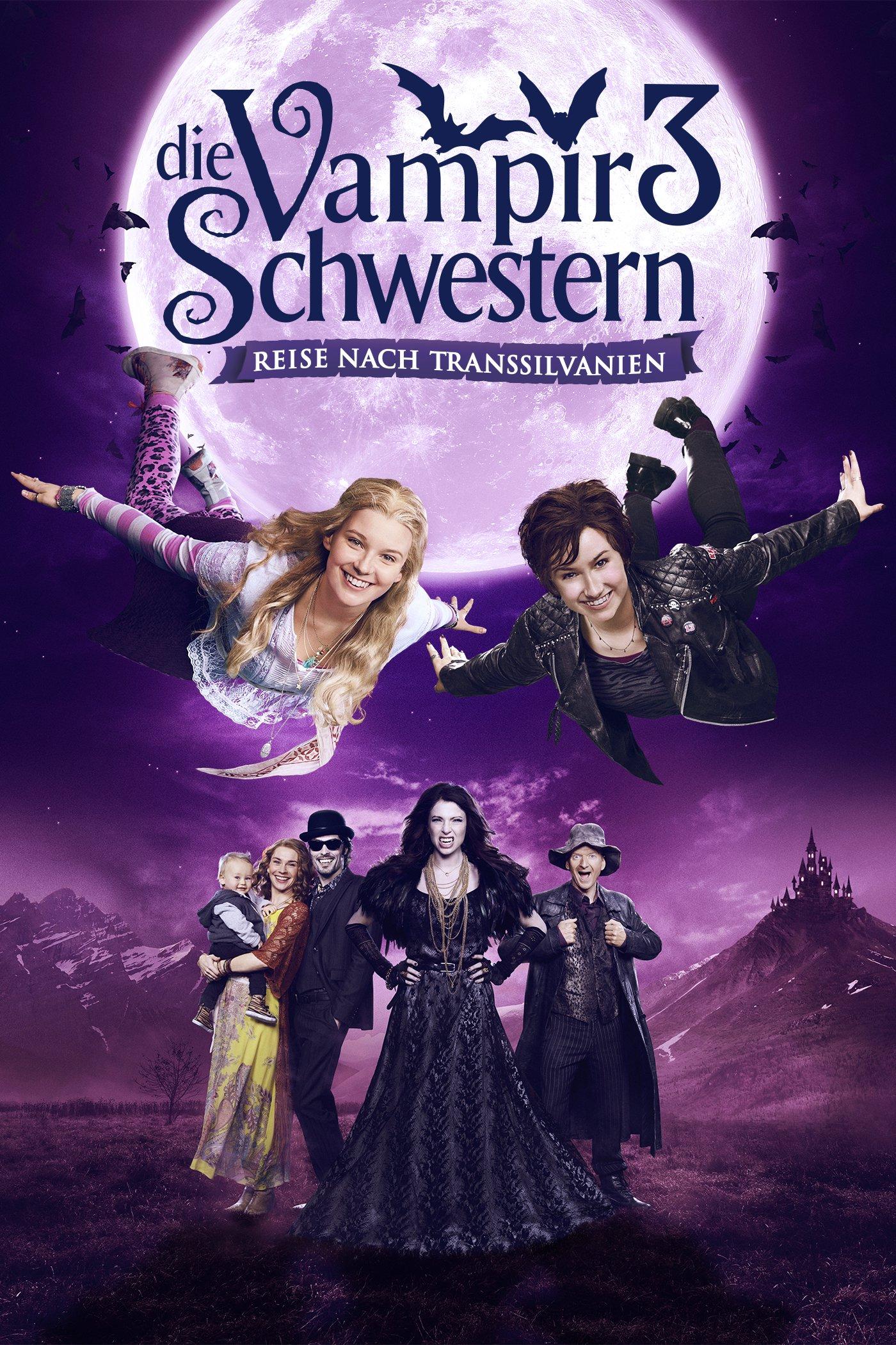 """Plakat von """"Die Vampirschwestern 3 -Reise nach Transsilvanien"""""""