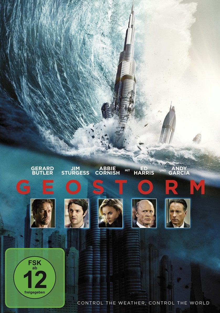 """Plakat von """"Geostorm"""""""
