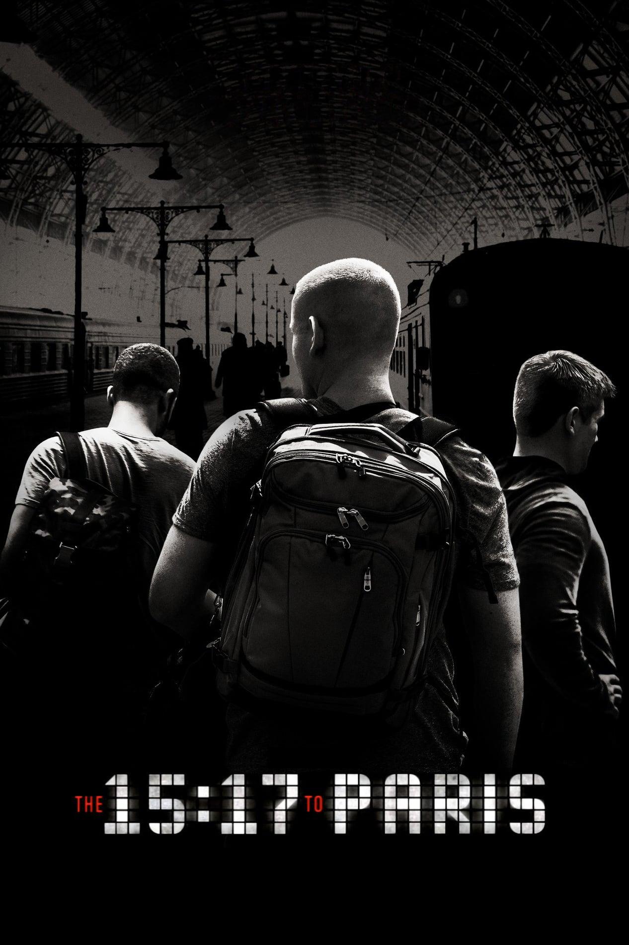 """Plakat von """"The 15:17 to Paris"""""""