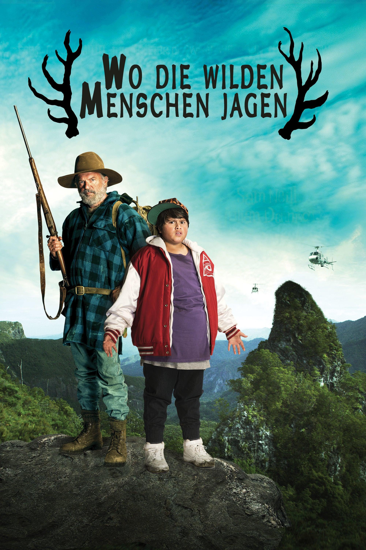 """Plakat von """"Wo die wilden Menschen jagen"""""""