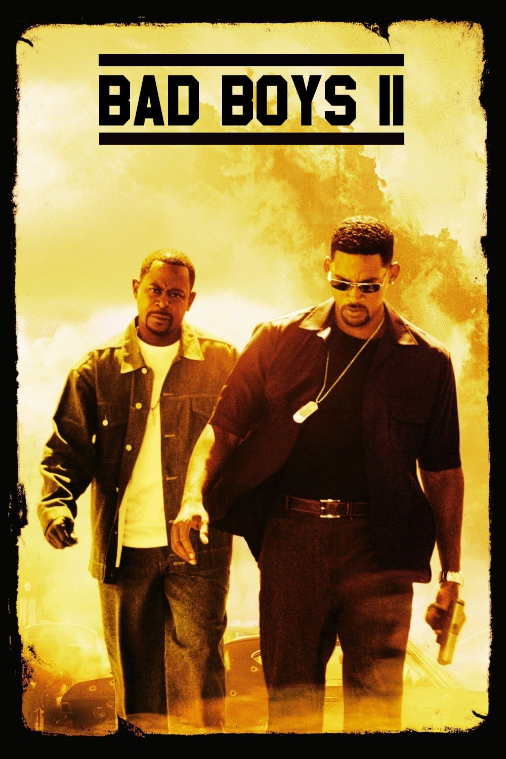 "Plakat von ""Bad Boys II"""