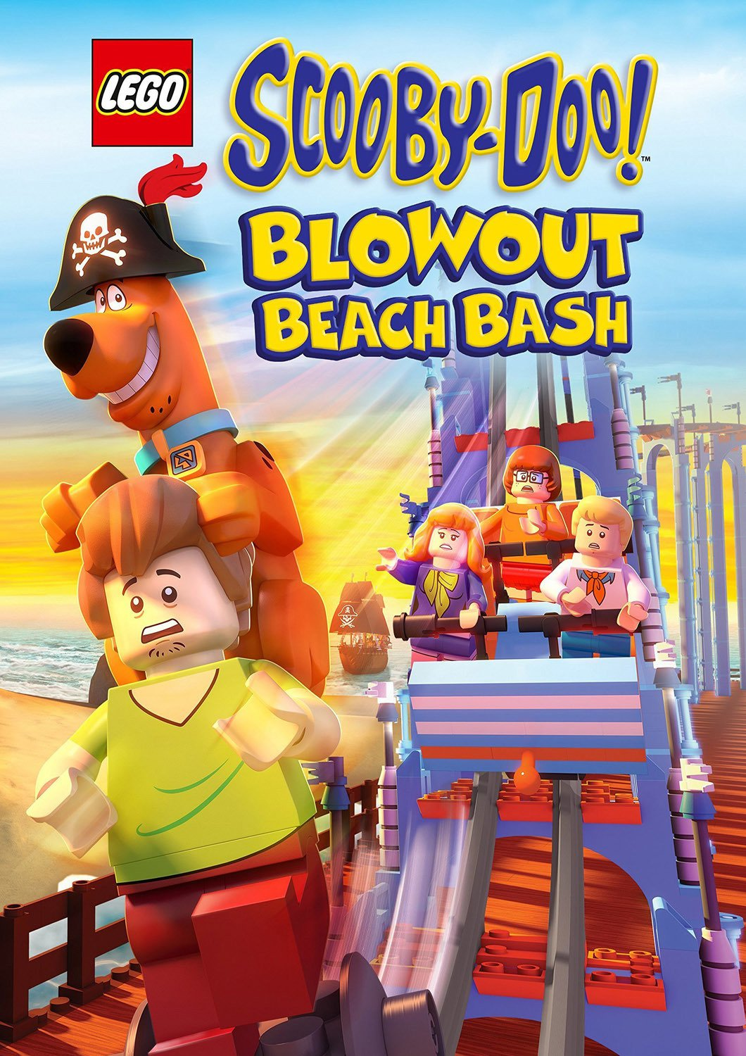 "Plakat von ""LEGO Scooby-Doo! Strandparty"""