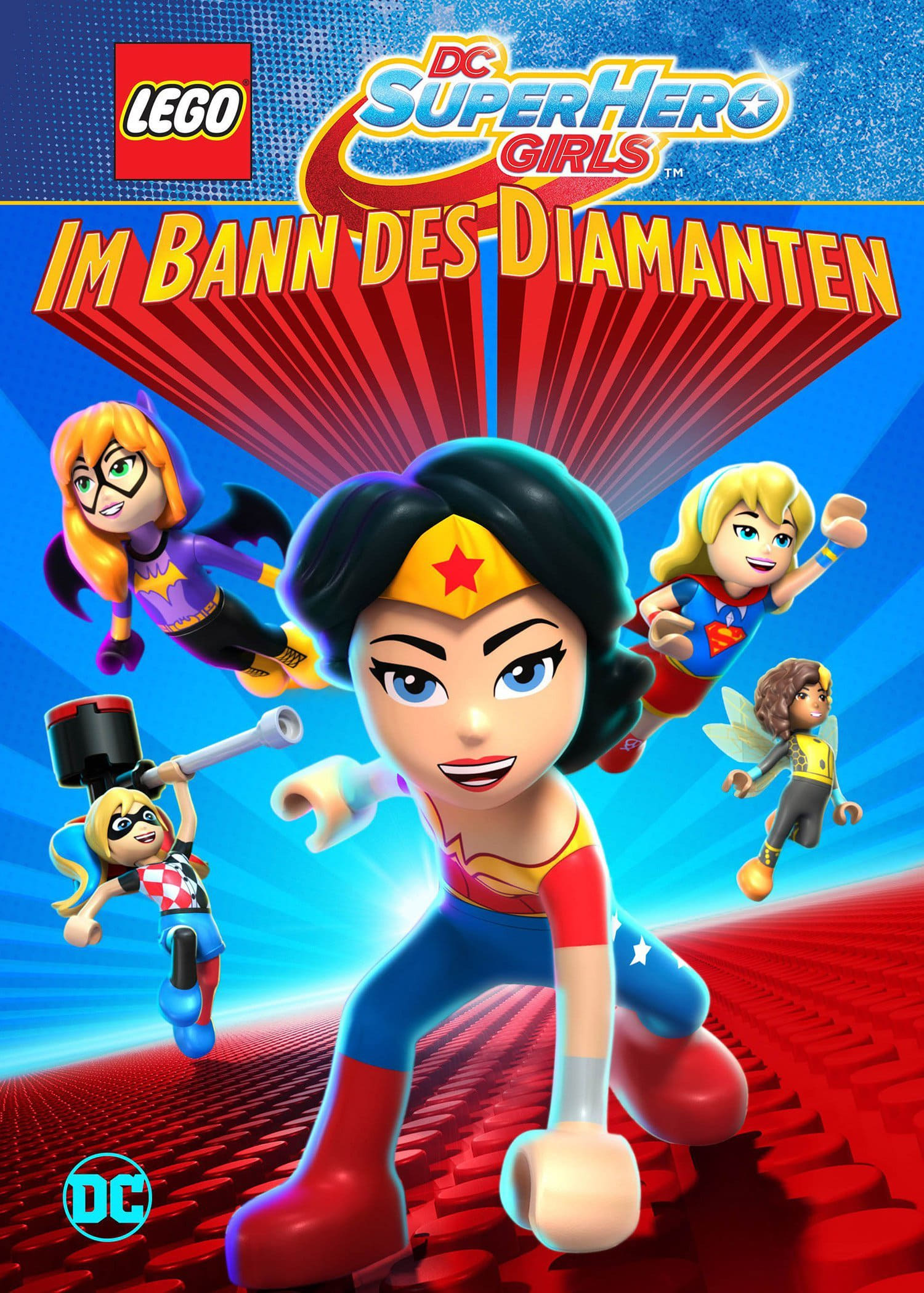 "Plakat von ""LEGO DC Super Hero Girls: Im Bann des Diamanten"""