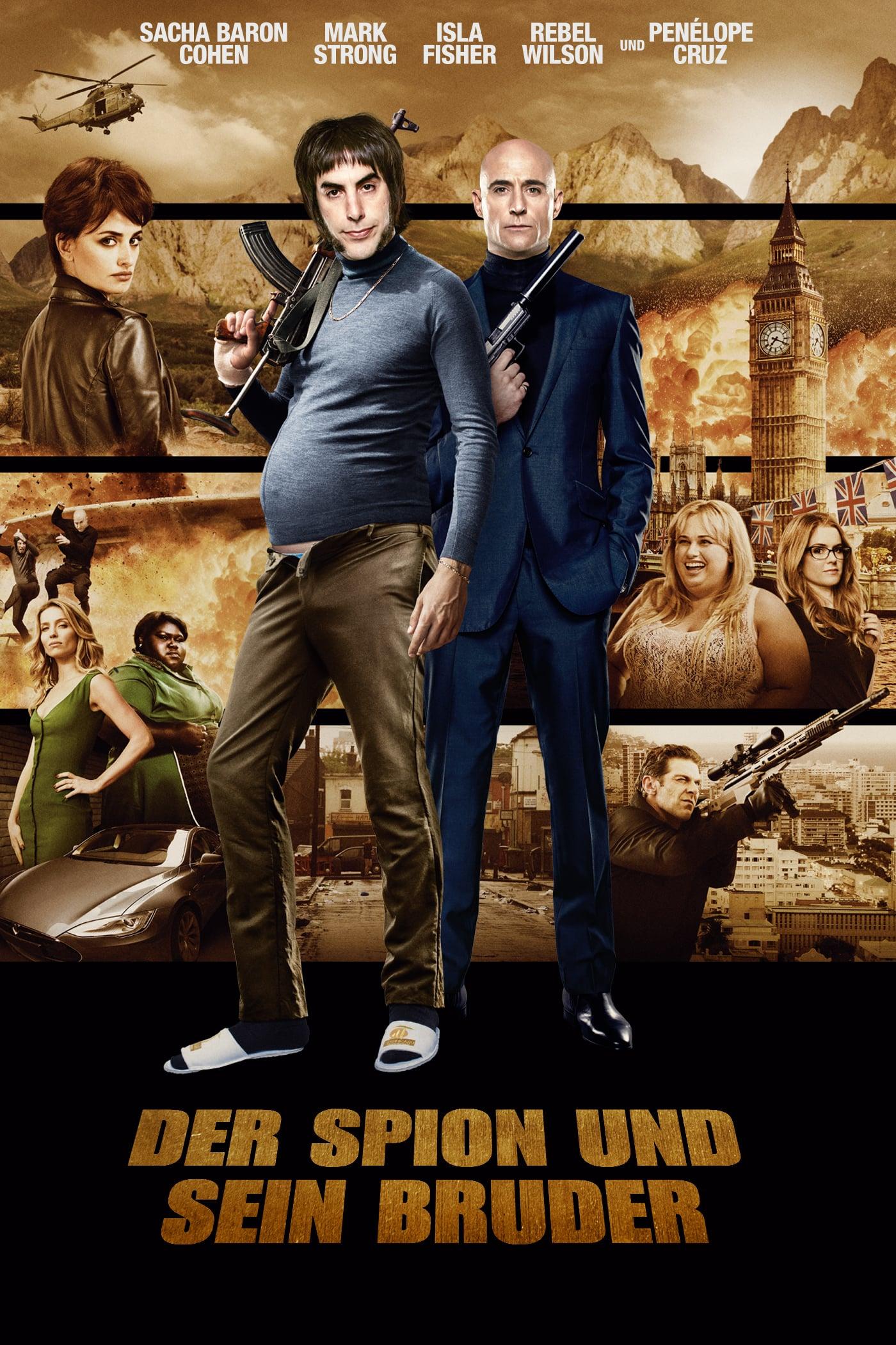 """Plakat von """"Der Spion und sein Bruder"""""""