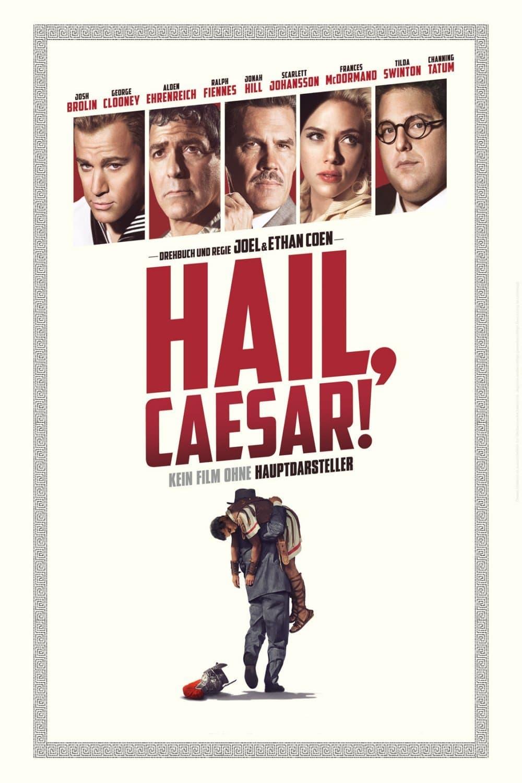 """Plakat von """"Hail, Caesar!"""""""