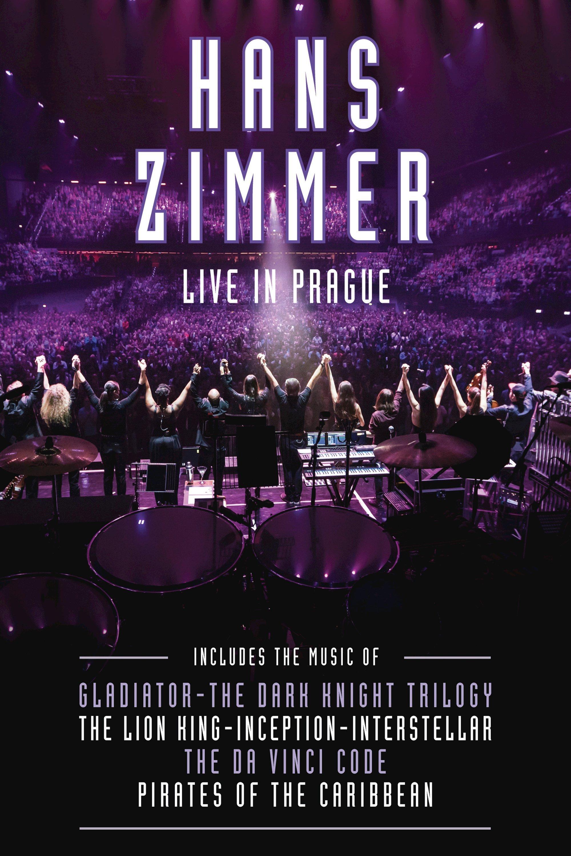 """Plakat von """"Hans Zimmer: Live in Prague"""""""