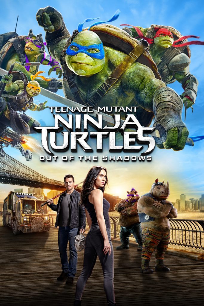 "Plakat von ""Teenage Mutant Ninja Turtles: Out of the Shadows"""