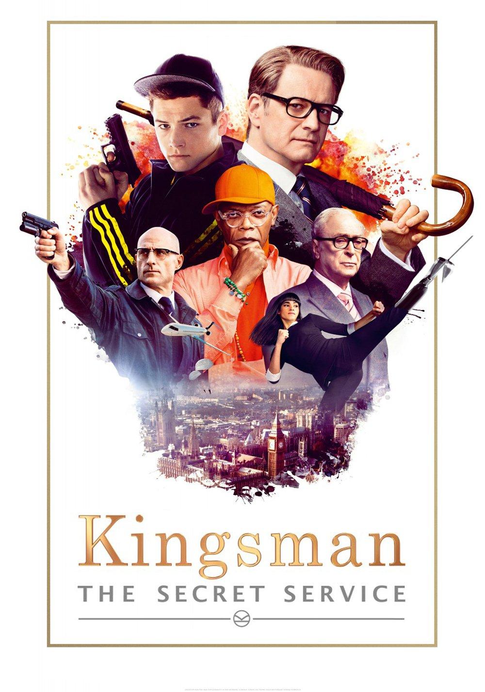 """Plakat von """"Kingsman: The Secret Service"""""""
