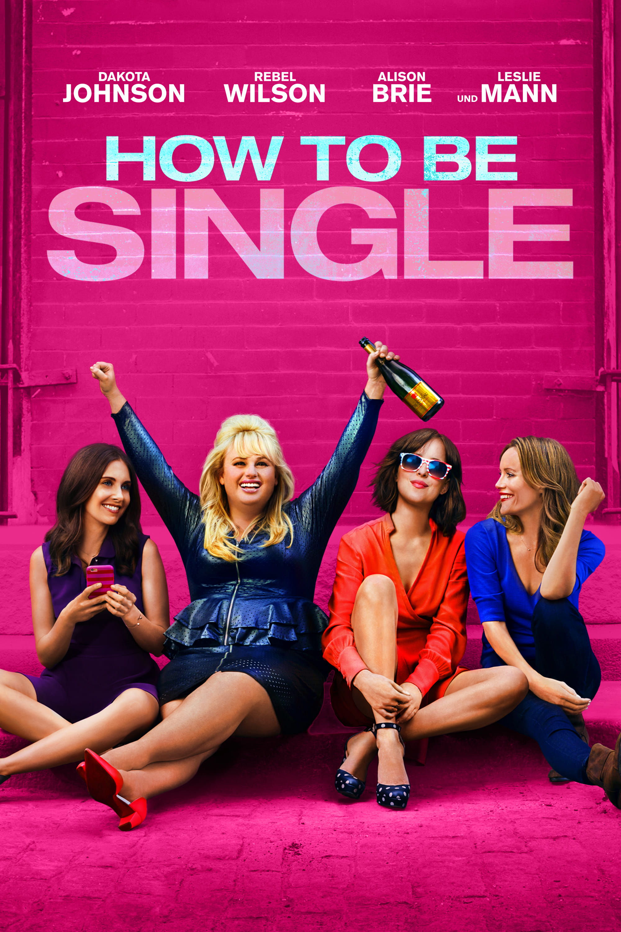 "Plakat von ""How to Be Single"""