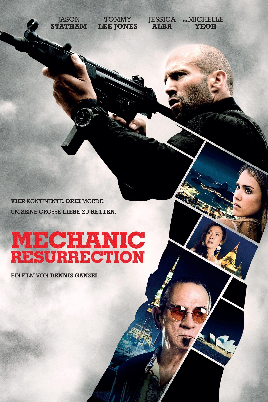 "Plakat von ""Mechanic: Resurrection"""