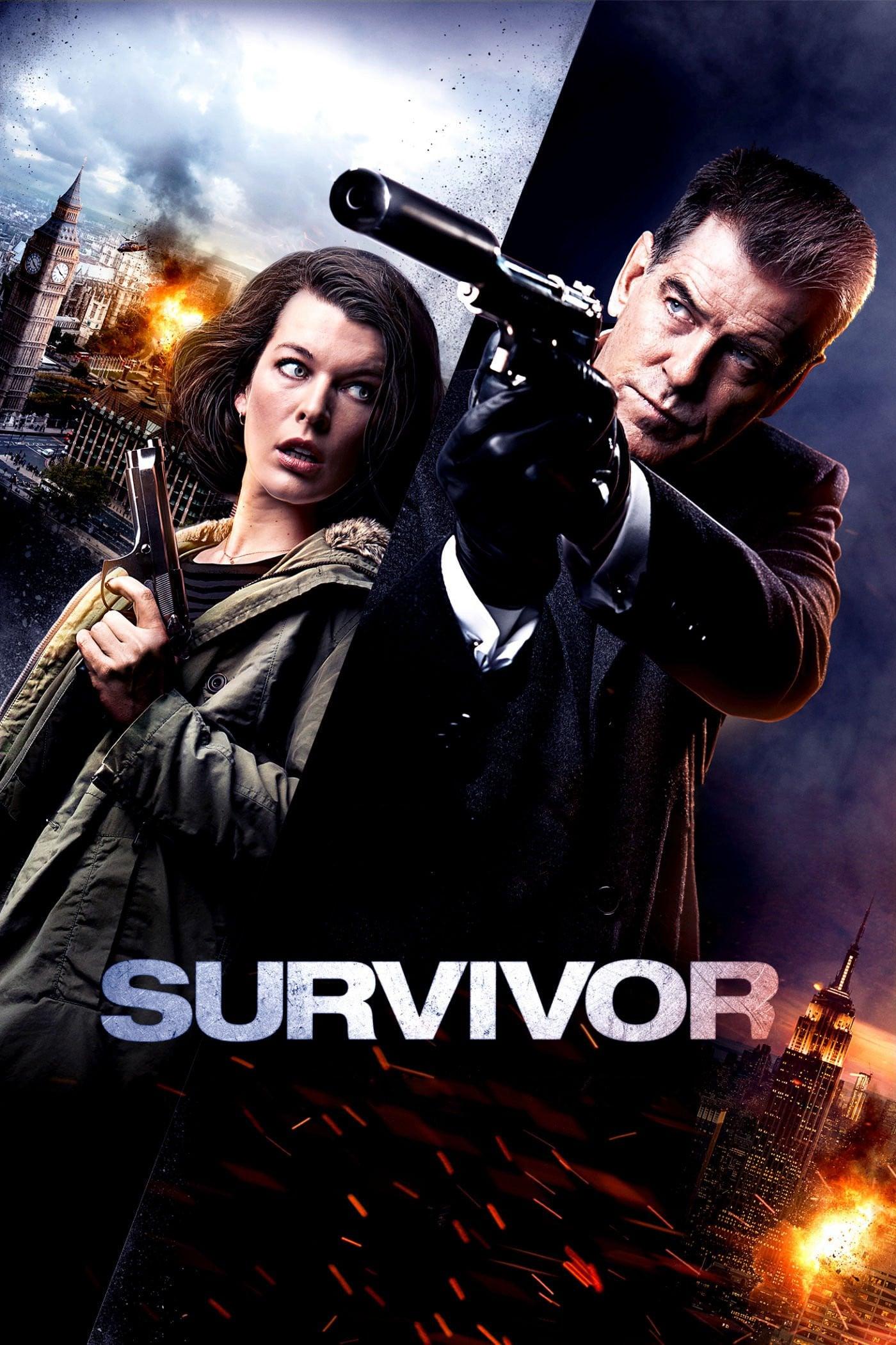 """Plakat von """"Survivor"""""""
