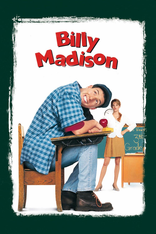 """Plakat von """"Billy Madison - Ein Chaot zum Verlieben"""""""
