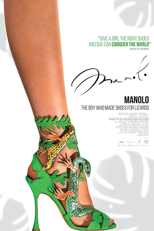"""Plakat von """"Manolo: The Boy Who Made Shoes for Lizards"""""""