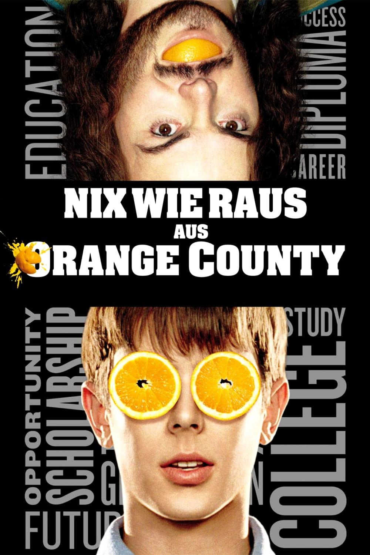 """Plakat von """"Nix wie raus aus Orange County"""""""