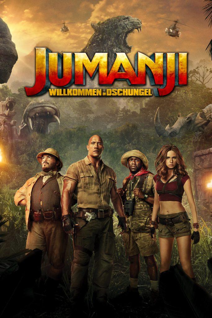 """Plakat von """"Jumanji: Willkommen im Dschungel"""""""