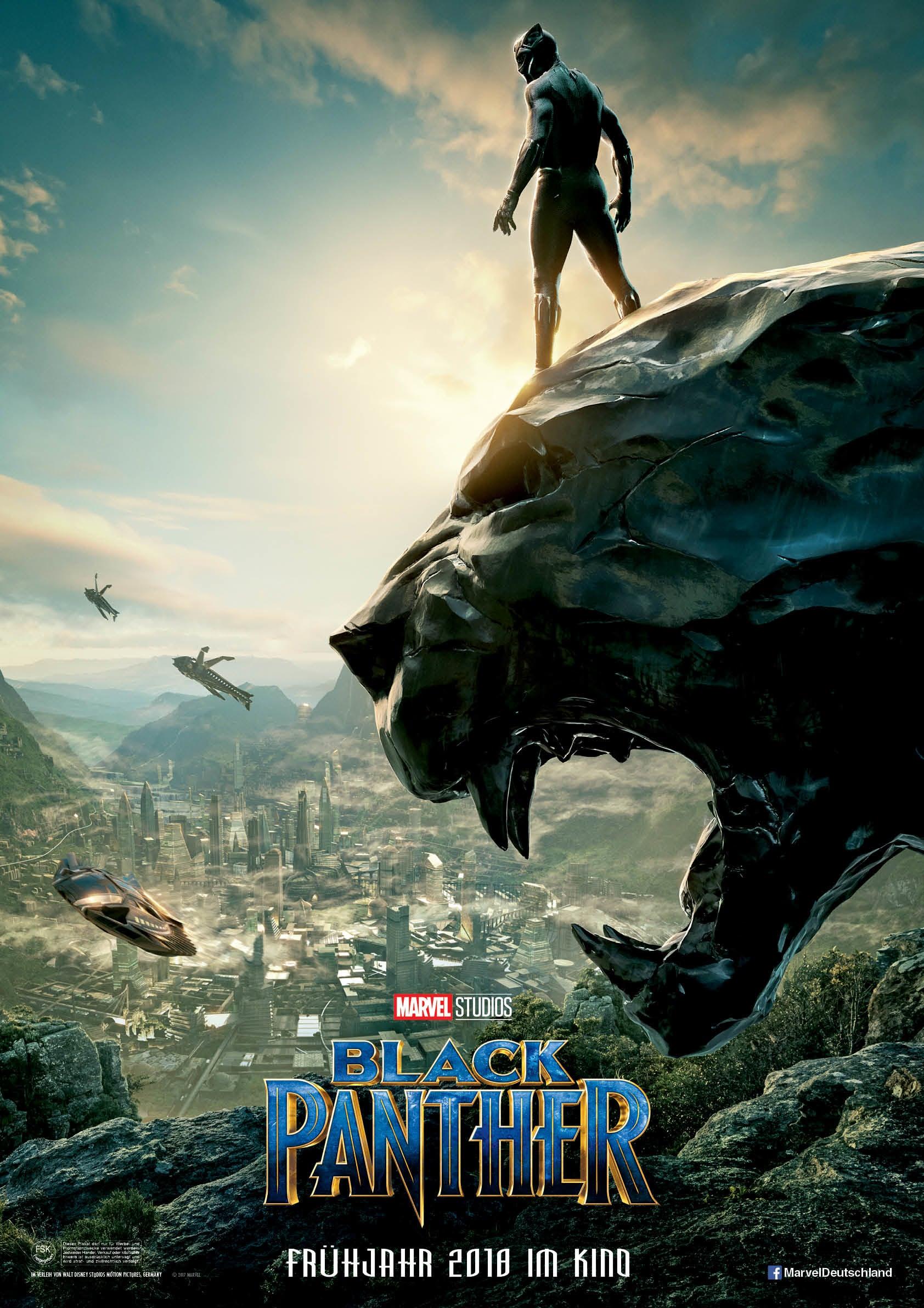 """Plakat von """"Black Panther"""""""