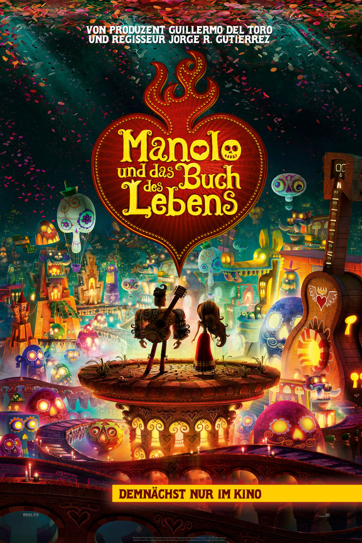 """Plakat von """"Manolo und das Buch des Lebens"""""""