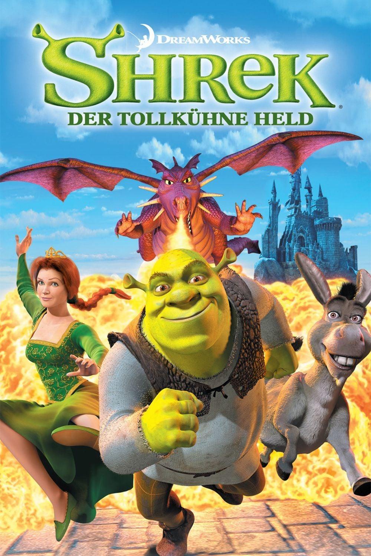 """Plakat von """"Shrek - Der tollkühne Held"""""""
