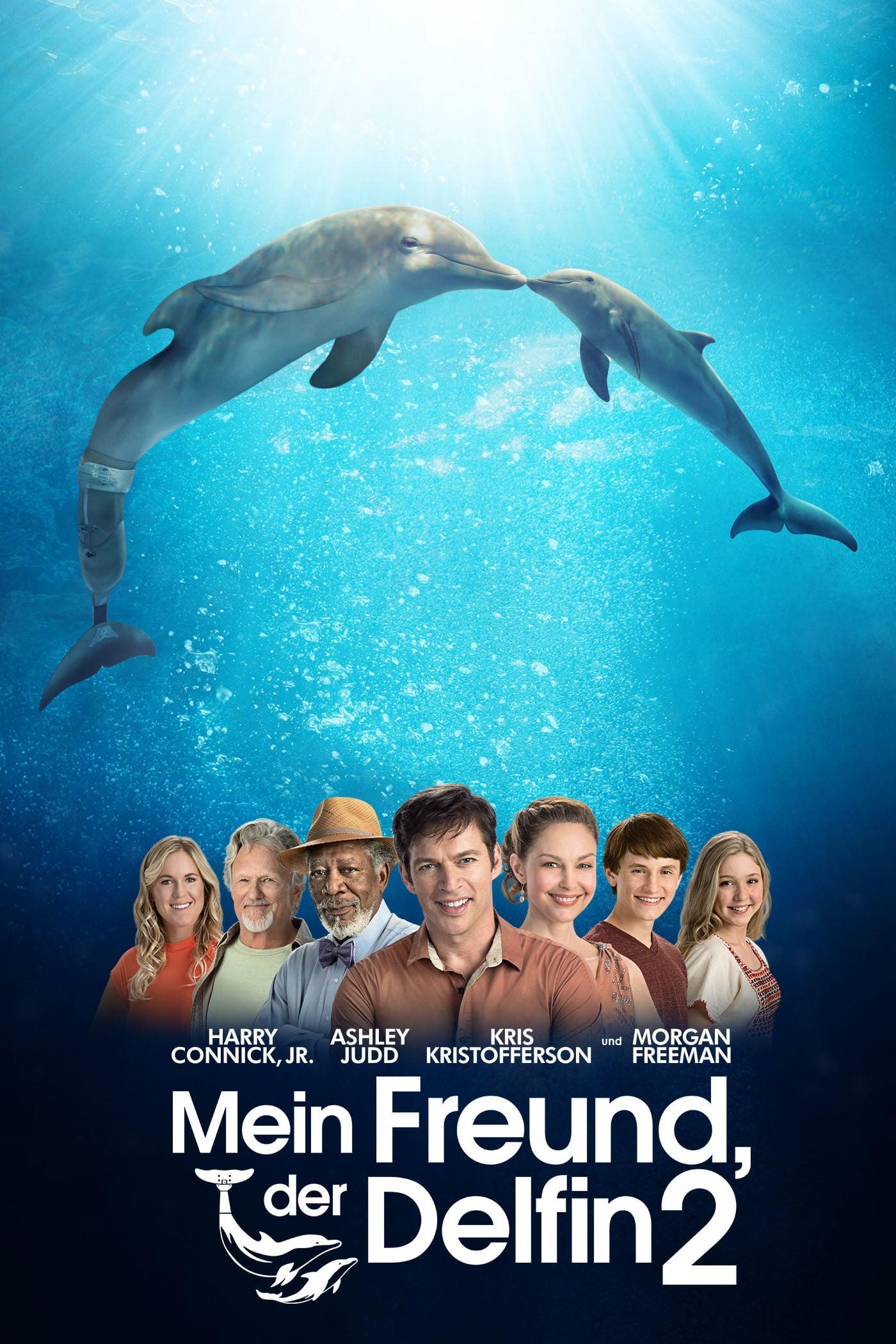 """Plakat von """"Mein Freund, der Delfin 2"""""""