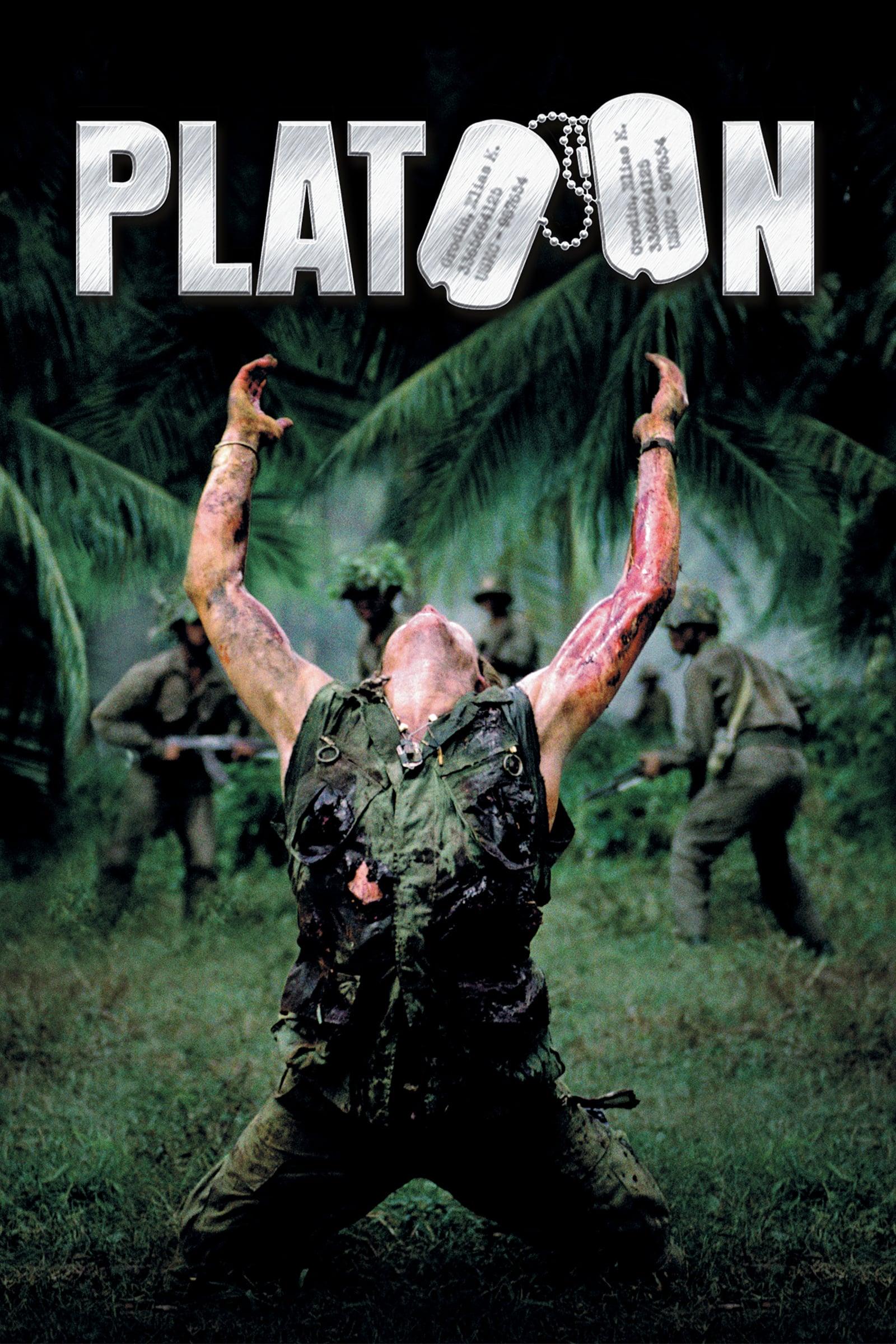 """Plakat von """"Platoon"""""""
