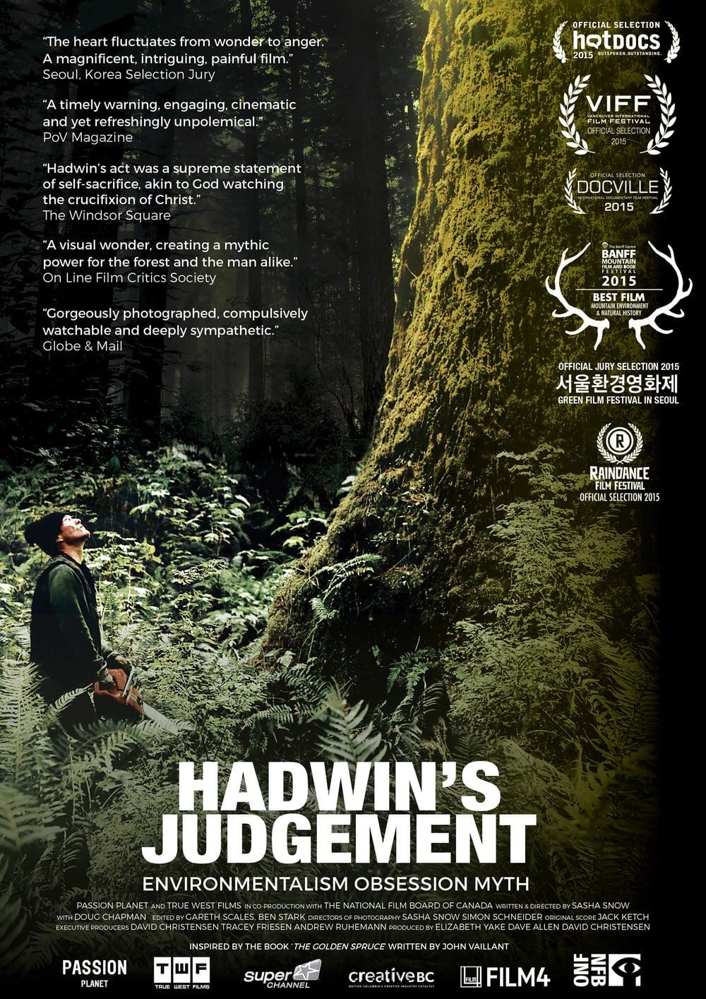"""Plakat von """"Hadwin's Judgement"""""""