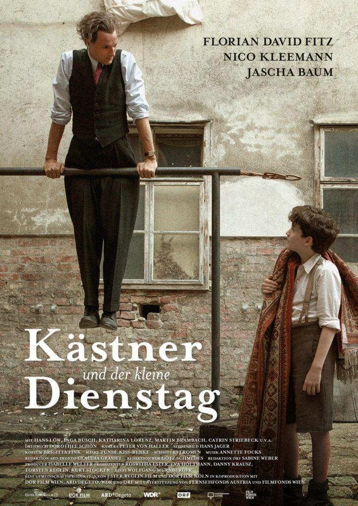 """Plakat von """"Kästner und der kleine Dienstag"""""""