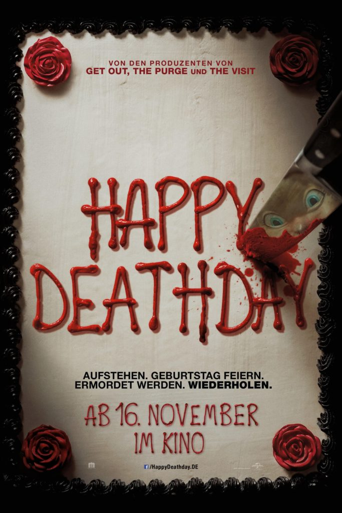 "Plakat von ""Happy Death Day"""