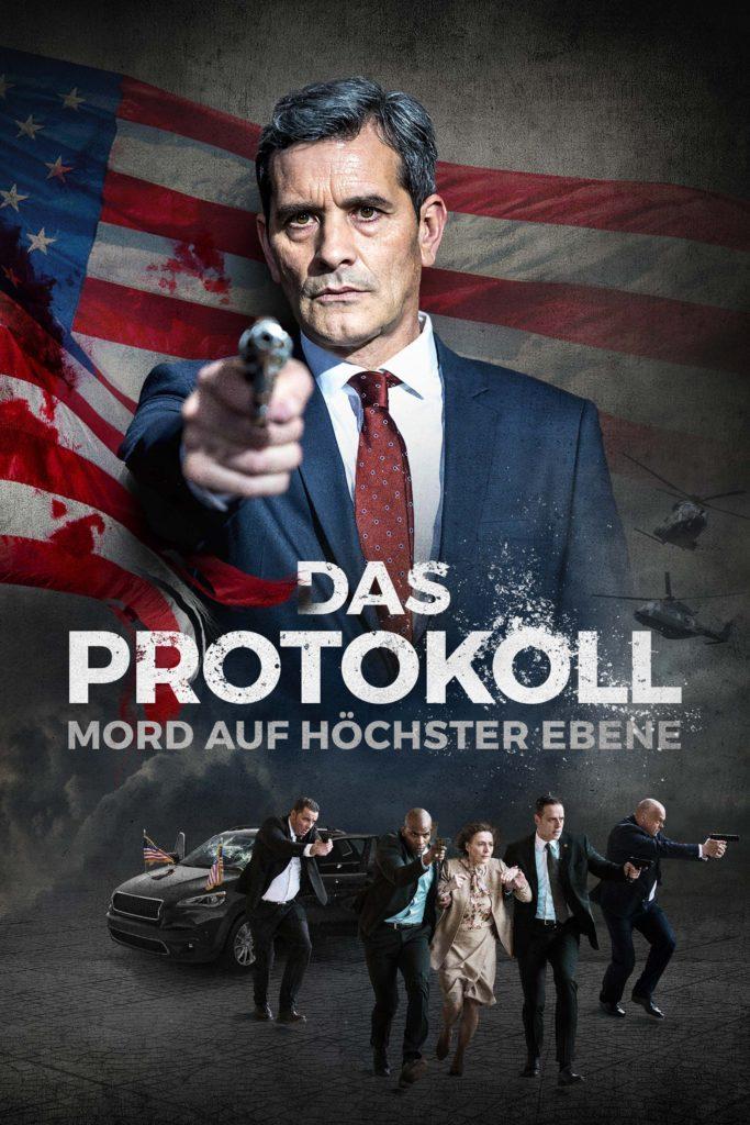 """Plakat von """"Das Protokoll - Mord auf höchster Ebene"""""""