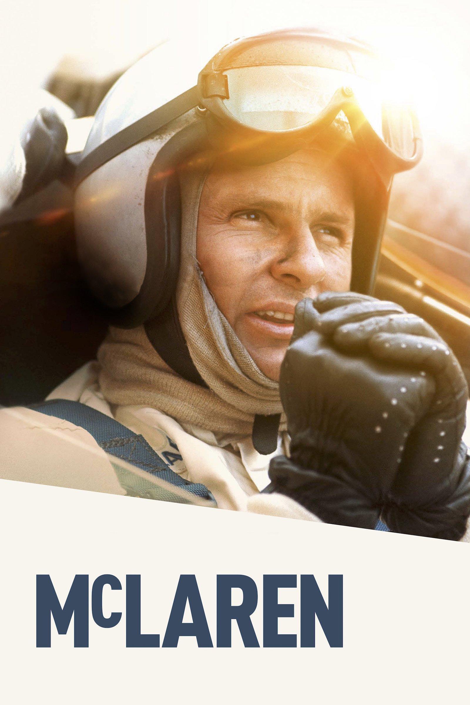 """Plakat von """"McLaren - Pionier, Leitwolf, Champion"""""""