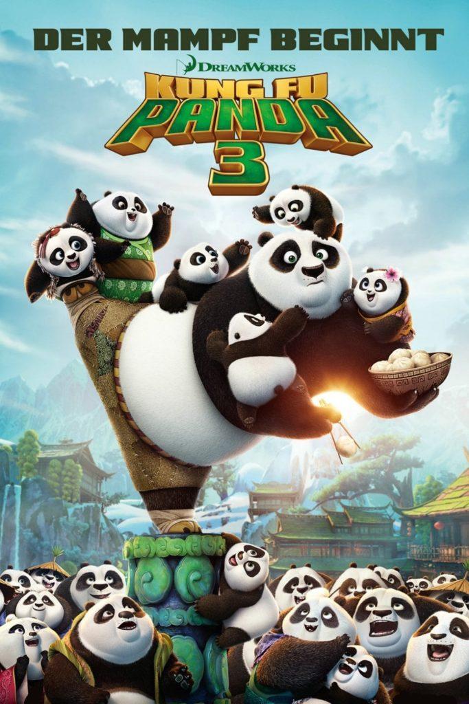"""Plakat von """"Kung Fu Panda 3"""""""