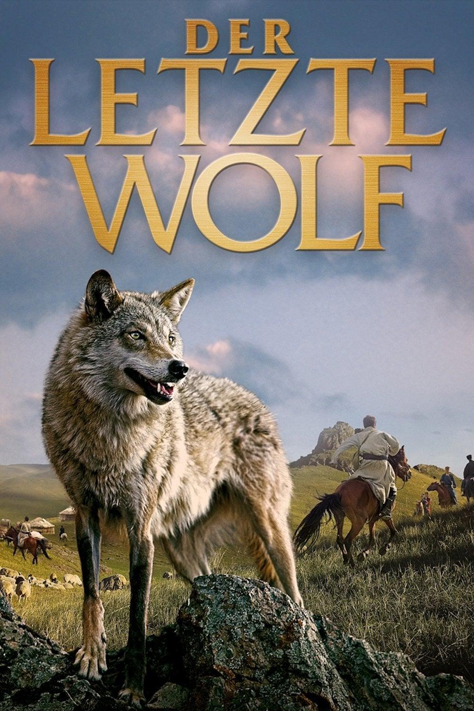 """Plakat von """"Der letzte Wolf"""""""