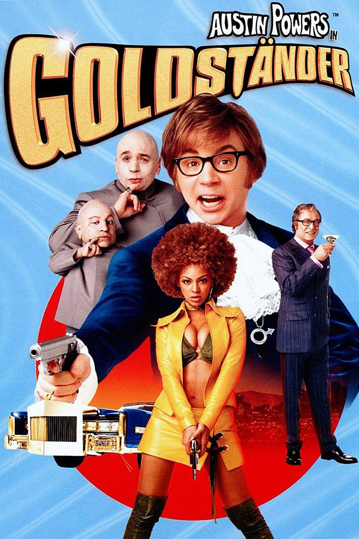 """Plakat von """"Austin Powers in Goldständer"""""""