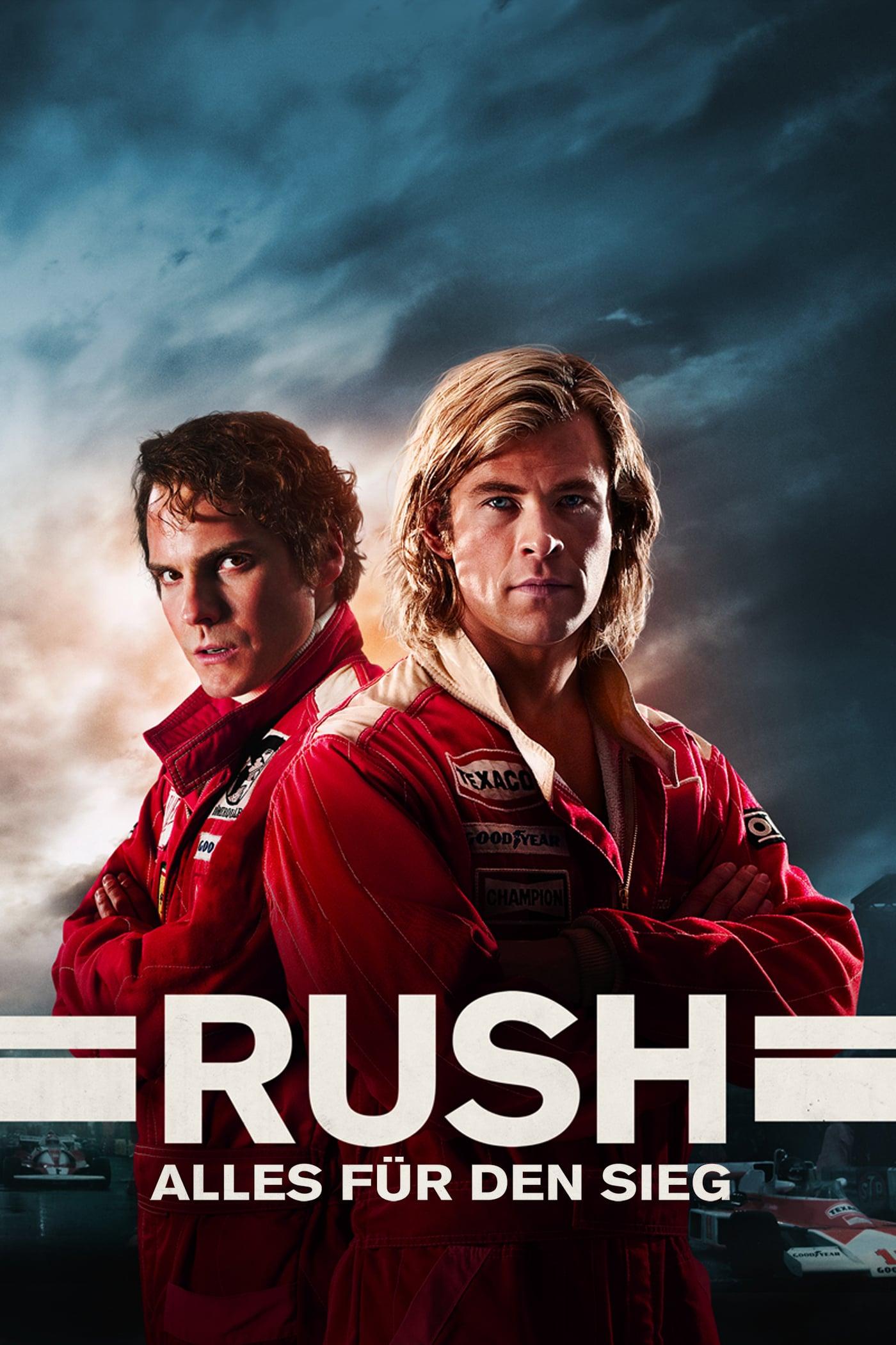 """Plakat von """"Rush - Alles für den Sieg"""""""