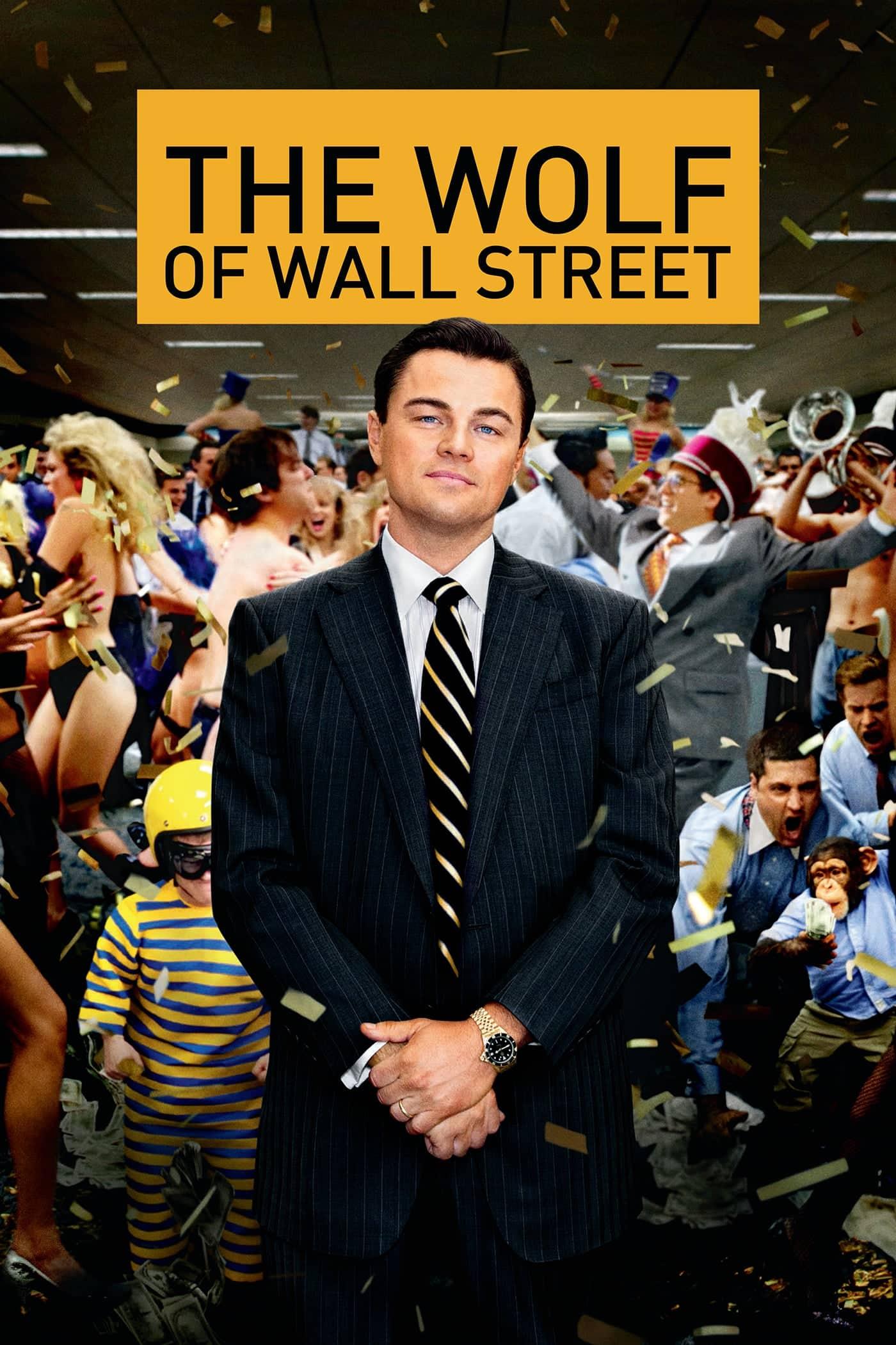 """Plakat von """"The Wolf of Wall Street"""""""