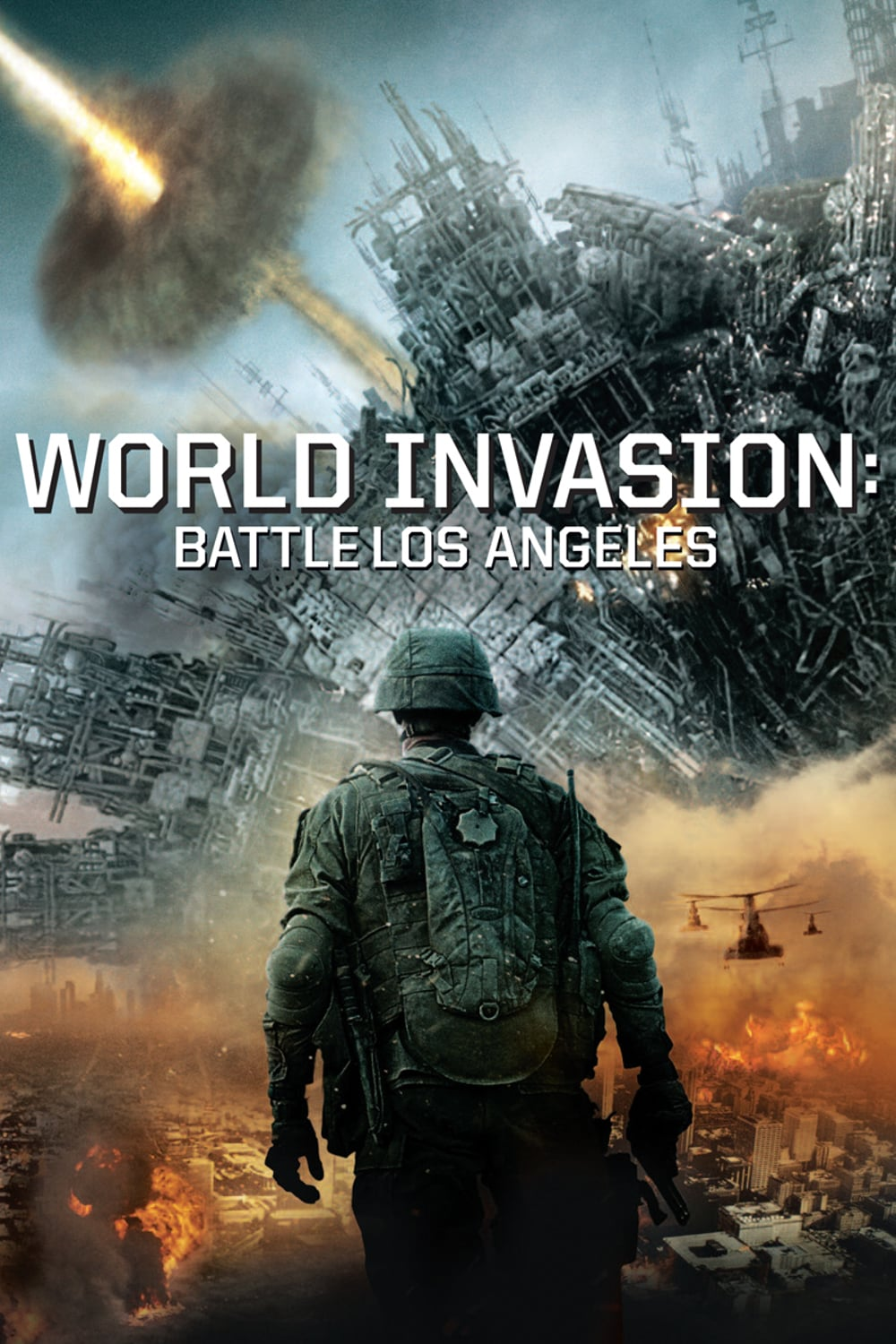 "Plakat von ""World Invasion: Battle Los Angeles"""
