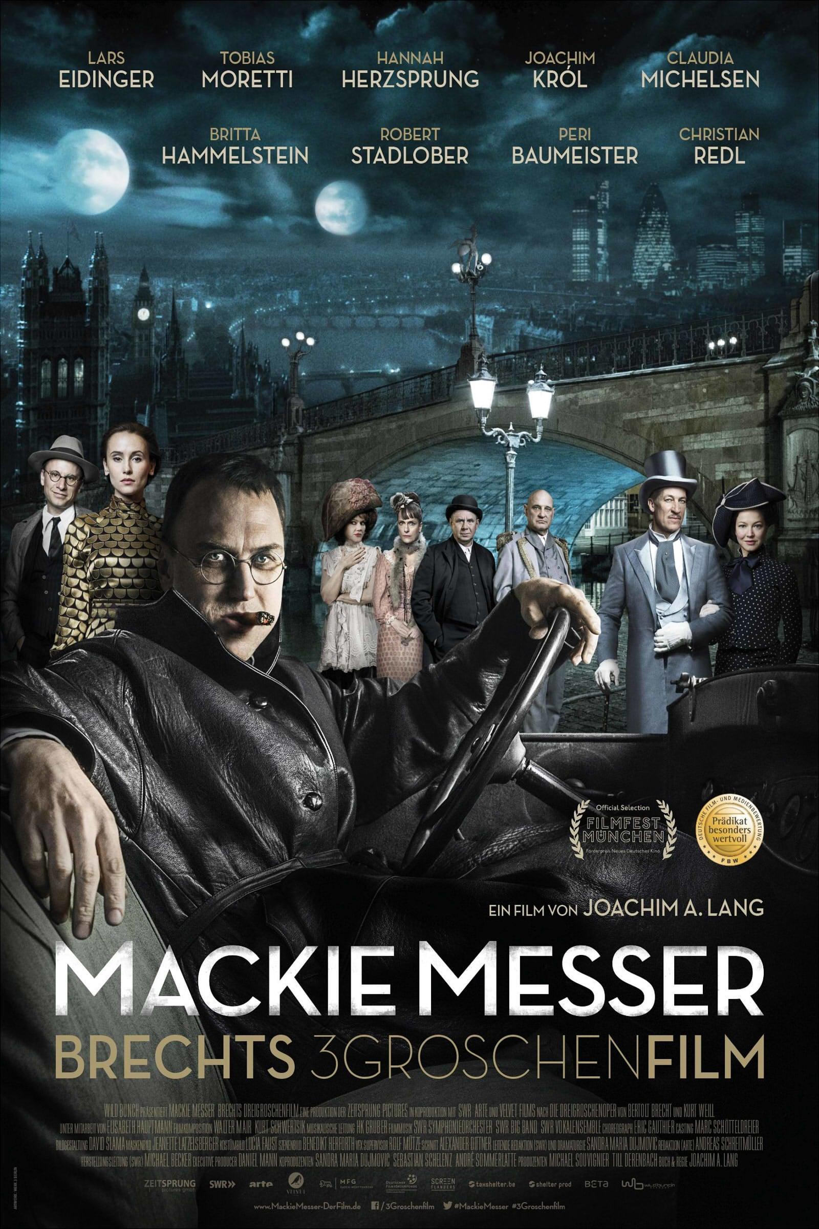 """Plakat von """"Dreigroschenfilm"""""""