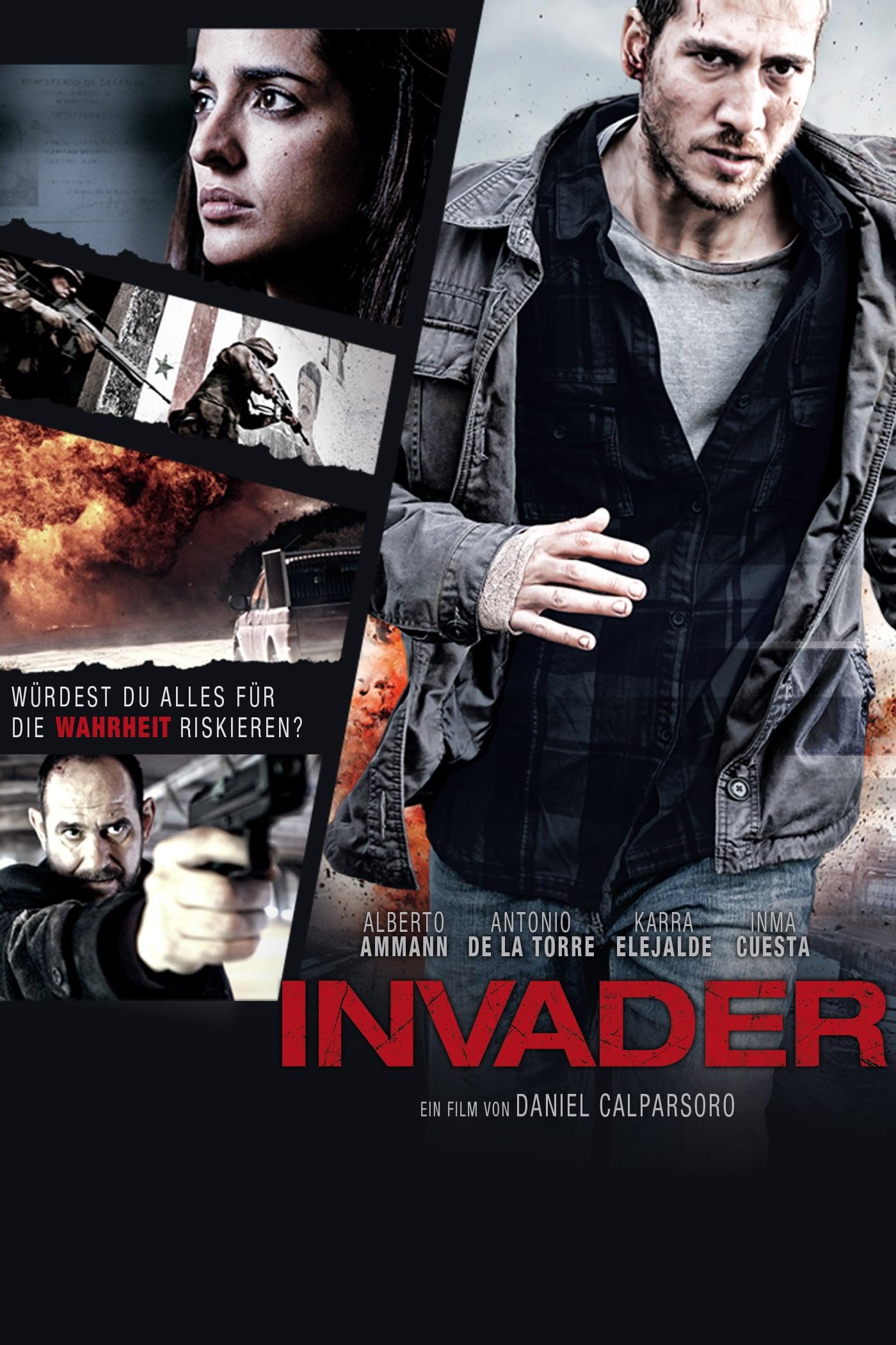 """Plakat von """"Invader"""""""