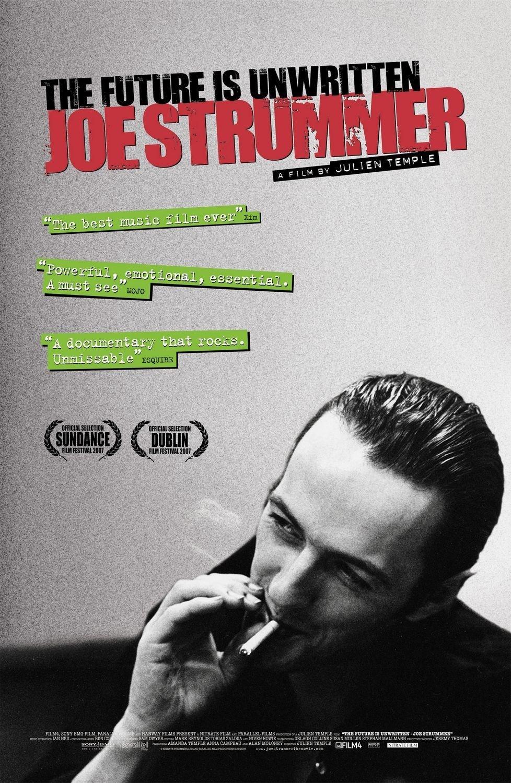 """Plakat von """"Joe Strummer: The Future Is Unwritten"""""""