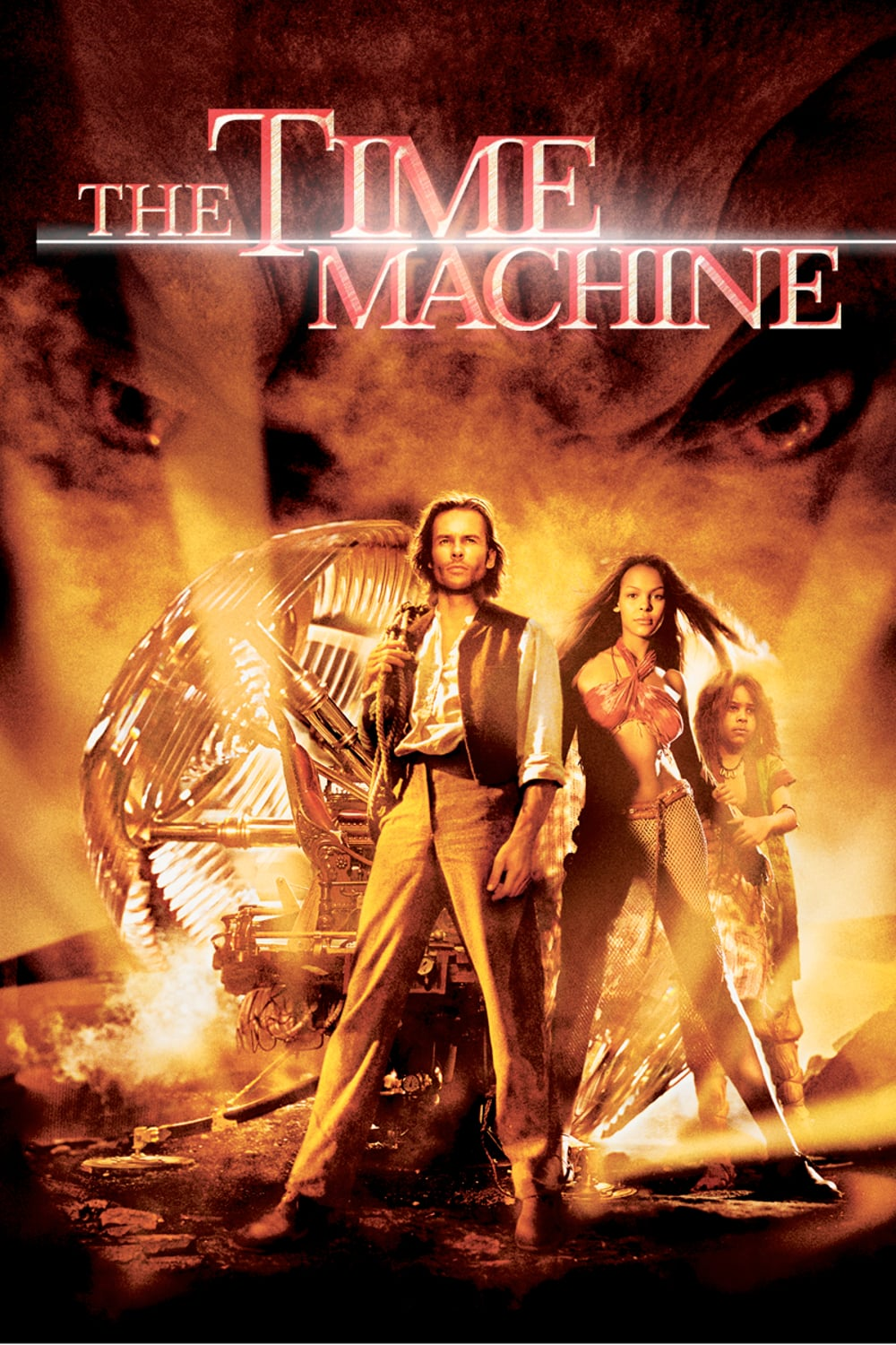 "Plakat von ""The Time Machine"""