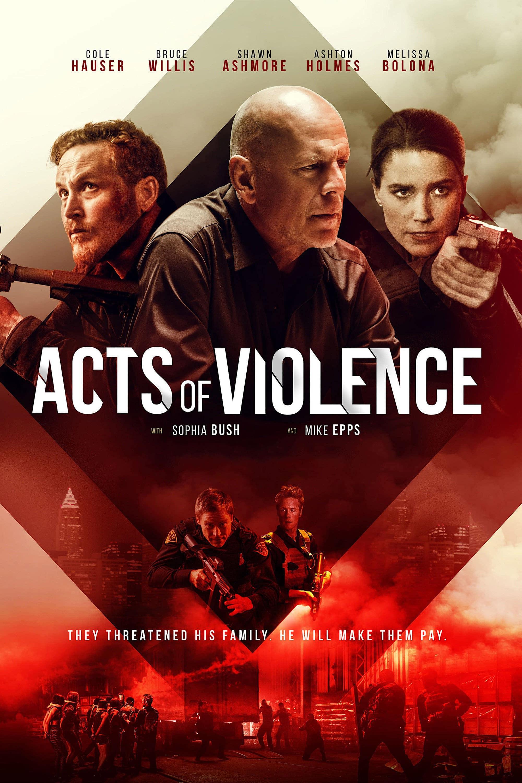 """Plakat von """"Acts of Violence"""""""