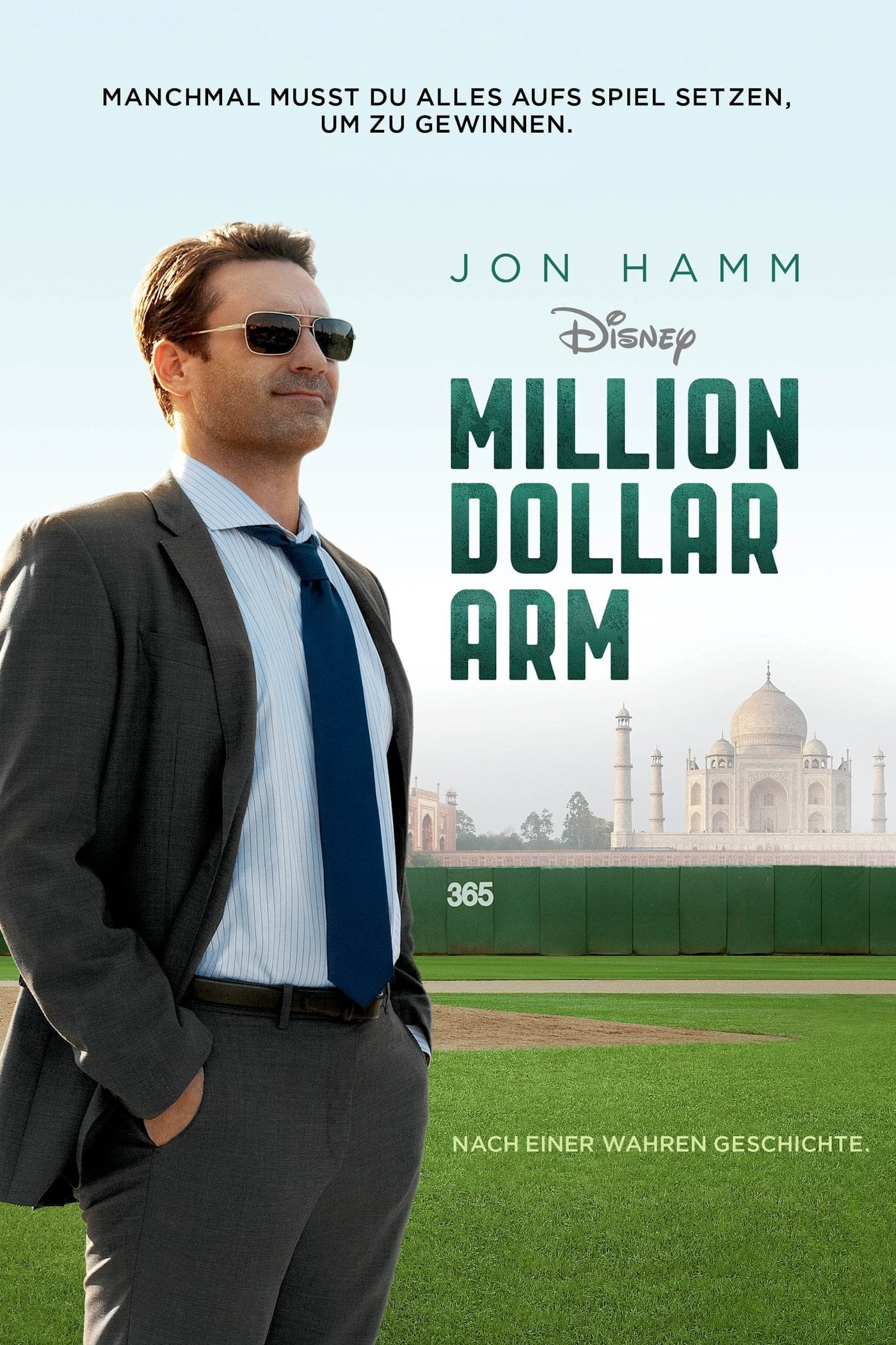 "Plakat von ""Million Dollar Arm"""