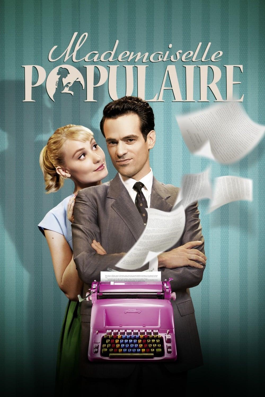 """Plakat von """"Mademoiselle Populaire"""""""