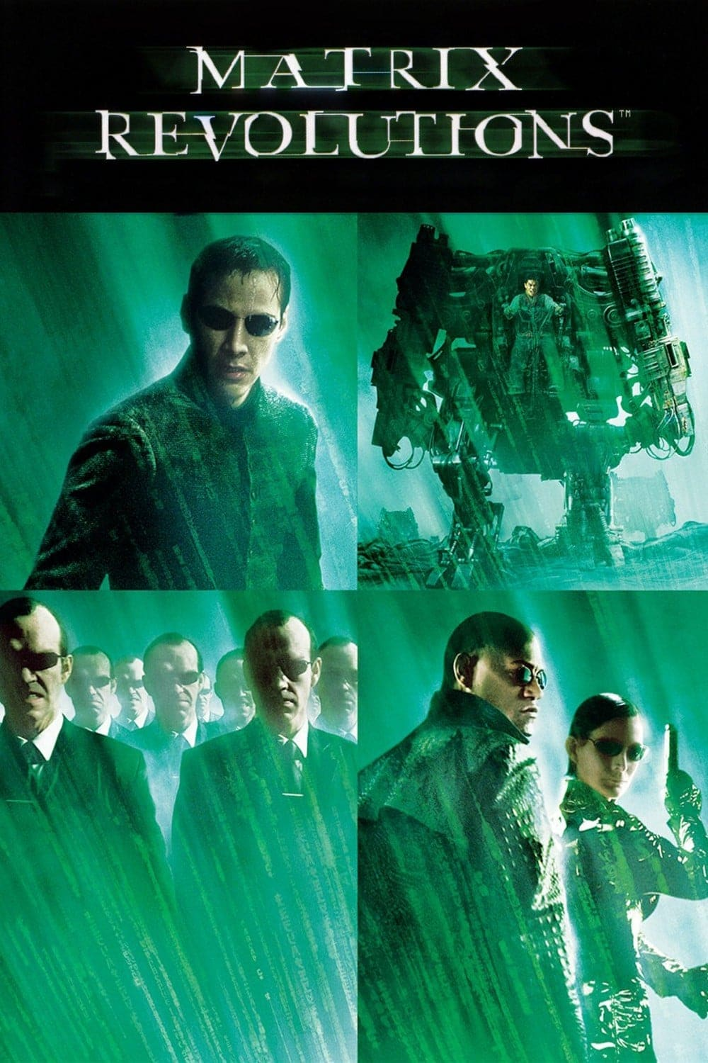 "Plakat von ""Matrix Revolutions"""