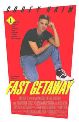 """Plakat von """"Fast Getaway"""""""